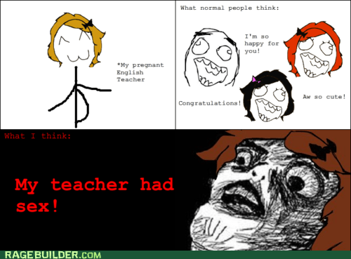 pregnancy Rage Comics raisin face truancy story - 6237068288