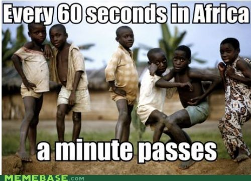a minute Ad africa kids Memes - 6237073152