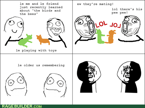 oh god why,p3n0r,Rage Comics,the birds and the bees