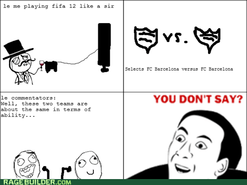 sir Rage Comics video games you dont say