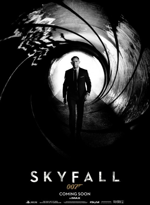 james bond movie poster skyfall