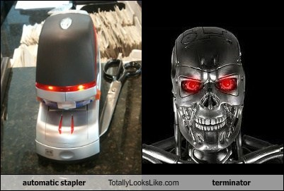 automatic stapler Totally Looks Like terminator