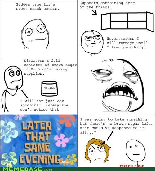 poker face,Rage Comics,sugar,sweet jesus have mercy