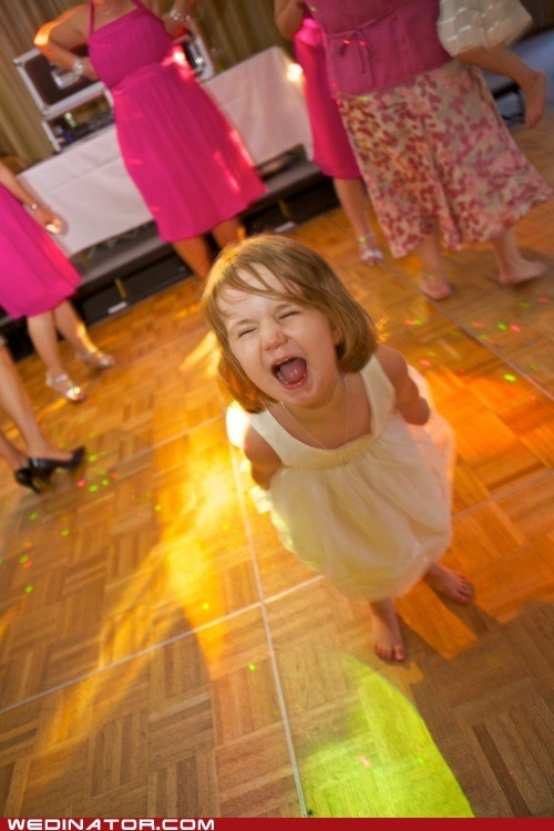 children dancefloor funny wedding photos kids - 6237501440