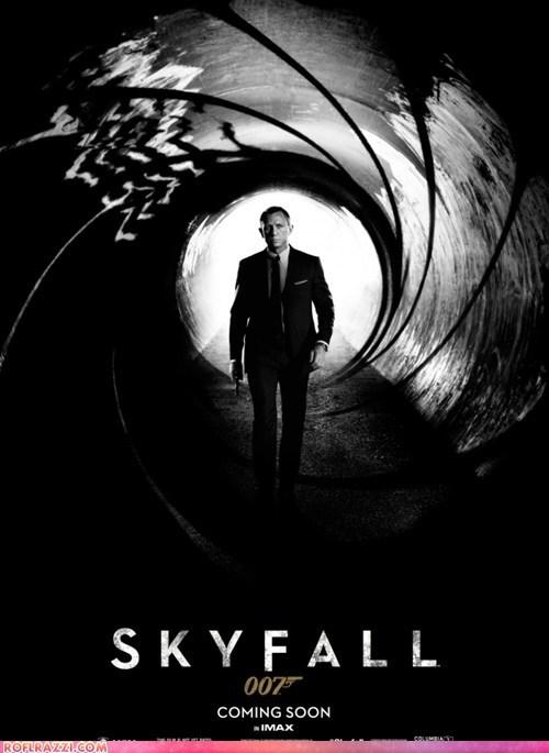 cool Daniel Craig james bond Movie poster - 6237811200