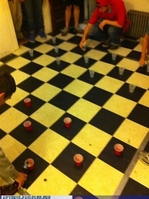 checkers,red cups,Red Solo Cup,solo cups