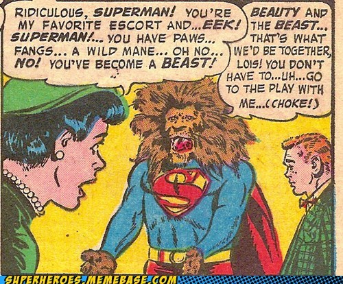beast lois play Straight off the Straight off the Page superman wtf - 6237851904