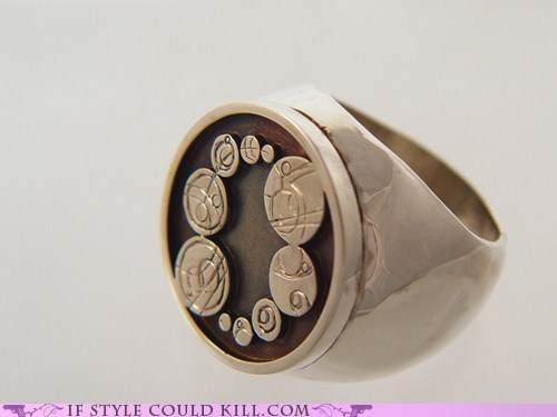 best of the week,cool accessories,doctor who,ring of the day,rings