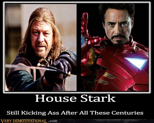 Game of Thrones house stark Pure Awesome tony stark - 6238330368