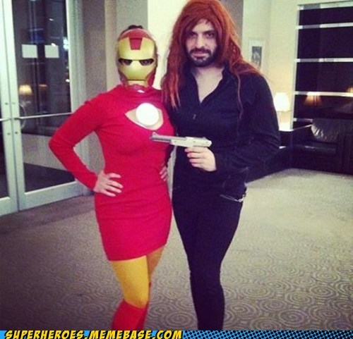 Black Widow ironman rule 63 Super Costume - 6238417152