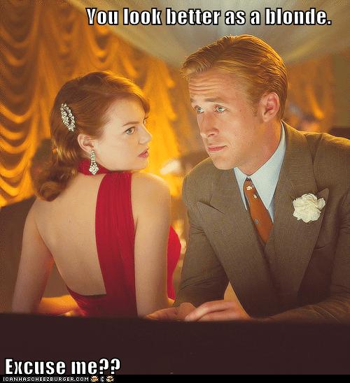 actor celeb emma stone funny Ryan Gosling - 6238425088