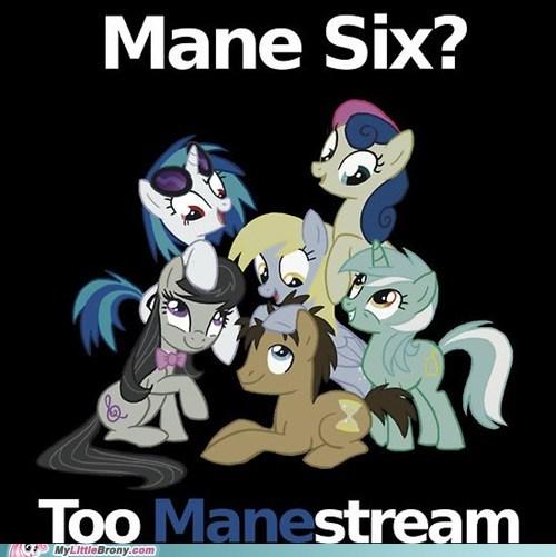 background ponies best of week Bronies mane six manestream meme - 6239124480