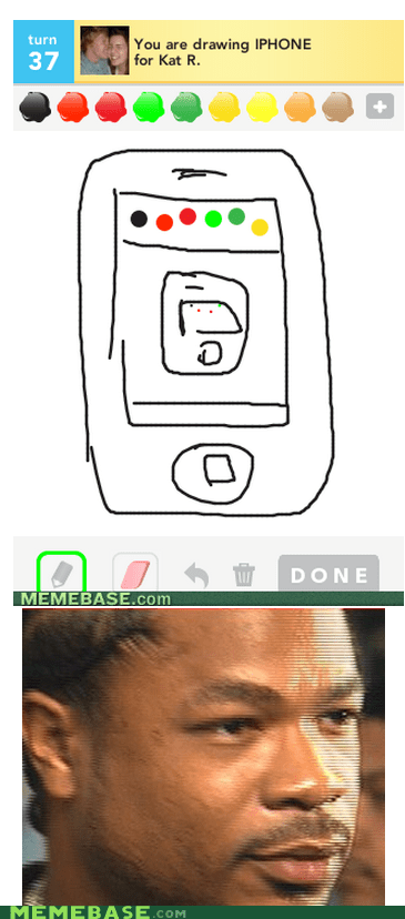 draw something iphone yo dawg - 6239438592