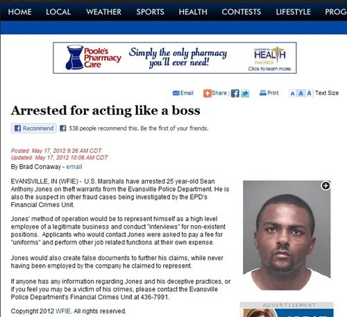 arrested Like a Boss promote synergy sean anthony jones sean jones - 6239610880