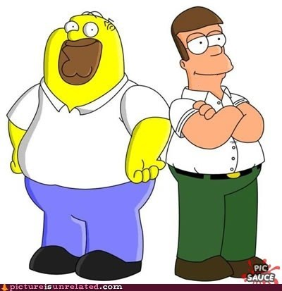 best of week cartoons homer simpson Peter Griffin wtf - 6239889664