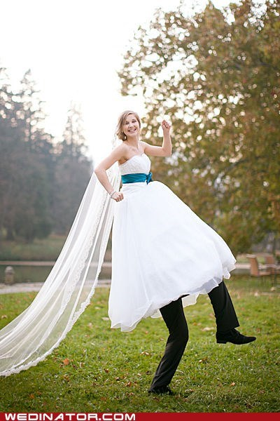 bride groom funny wedding photos goofy - 6240407808