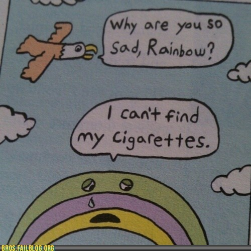 children coloring book rainbow rainbro smoking - 6240445952