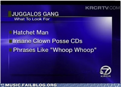 gangs,hatchet man,juggalo