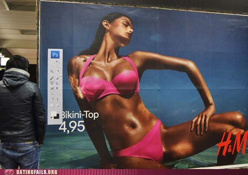 bikini top hm H&M hacked photoshopped - 6240538880