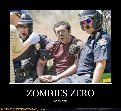 ZOMBIES ZERO cops one