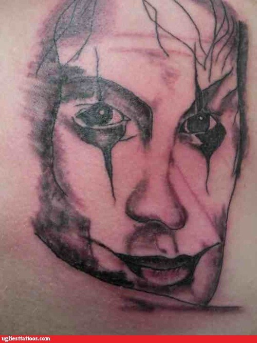 Brandon Lee movie tattoo The Crow