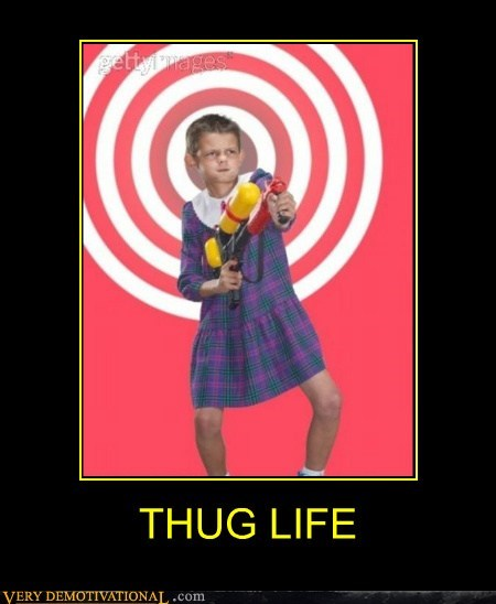 dress hilarious kid squirt gun thug life wtf - 6240658944