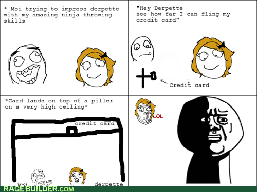 impress ninja oh god why Rage Comics skills - 6240706816