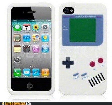 gameboy iphone cover nintendo videogame