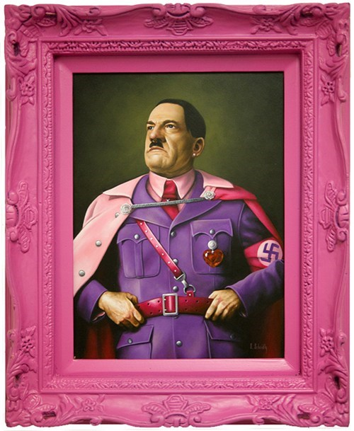 hitler portraits tough guys - 6241245184