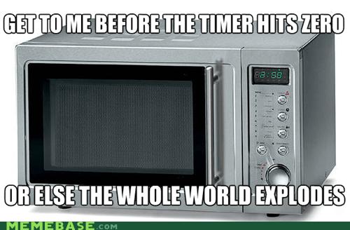 Memes,microwave,no,timer,zero