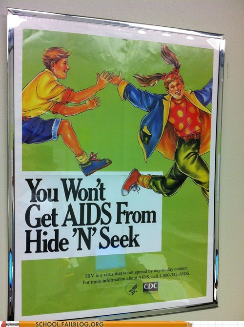 disease warnings,hide n seek,psa,you sure about that