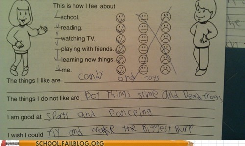 coolest kid ever little kids test humor