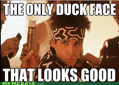 blue steel duck face Memes zoolander - 6241891840
