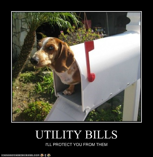 UTILITY BILLS I'LL PROTECT YOU FROM THEM