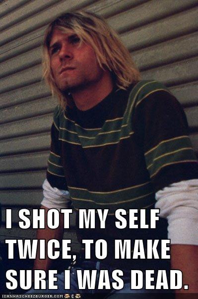 celeb funny kurt cobain Music - 6242573824