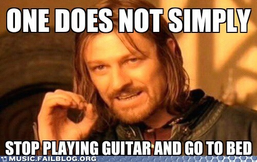 Boromir guitar meme one does not simply - 6242574592