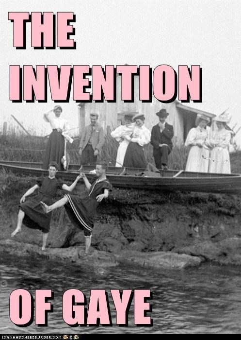 THE INVENTION   OF GAYE