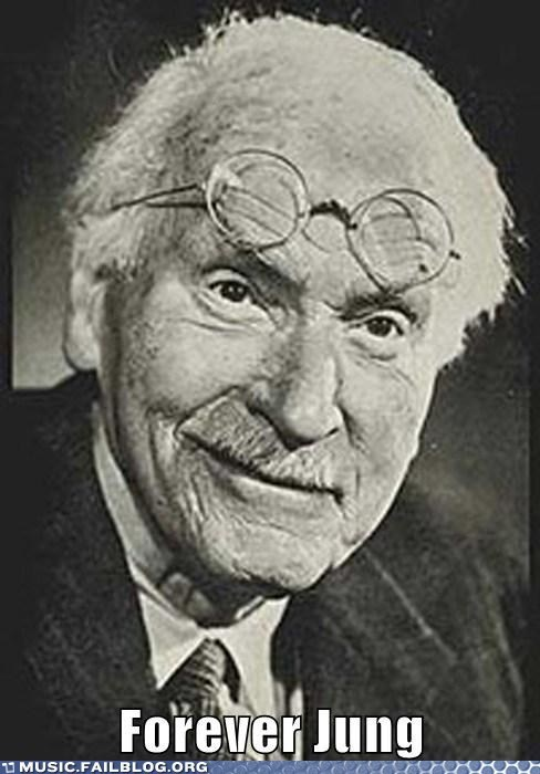 carl jung forever young jung psychology pun - 6242825728