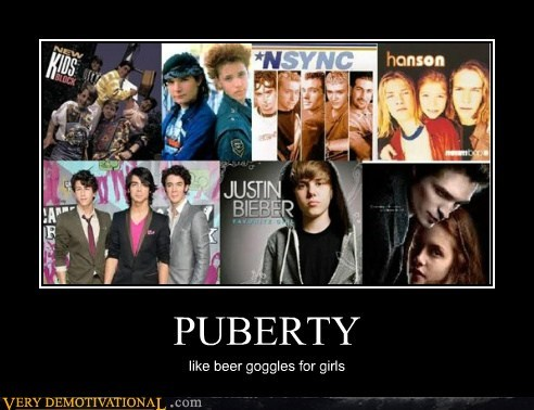 beer goggles girls idiots puberty