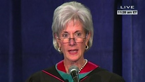 Birth Control Debate georgetown Kathleen Sebelius politics regular - 6243318272