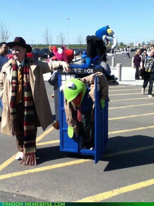 cosplay crossover doctor who muppets - 6243585024