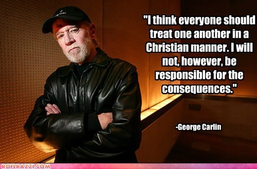 celeb comedian funny george carlin