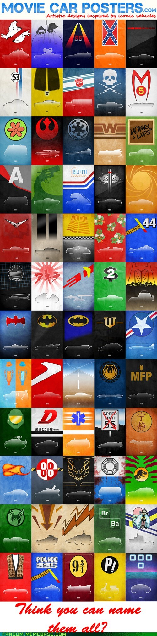 best of week cars Fan Art movies posters - 6244268288