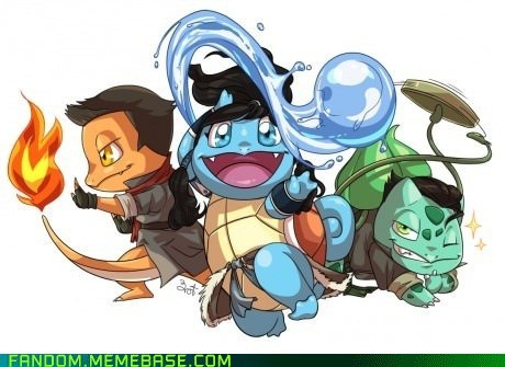 korra cartoons crossover Fan Art Pokémon video games - 6245195520