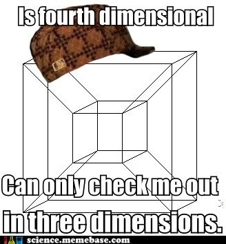3rd dimension,4th dimension,dimensions,physics,scumbag,space