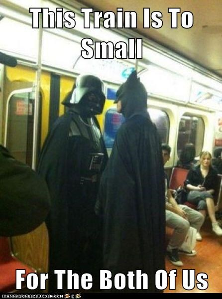 This Train Is To Small  For The Both Of Us