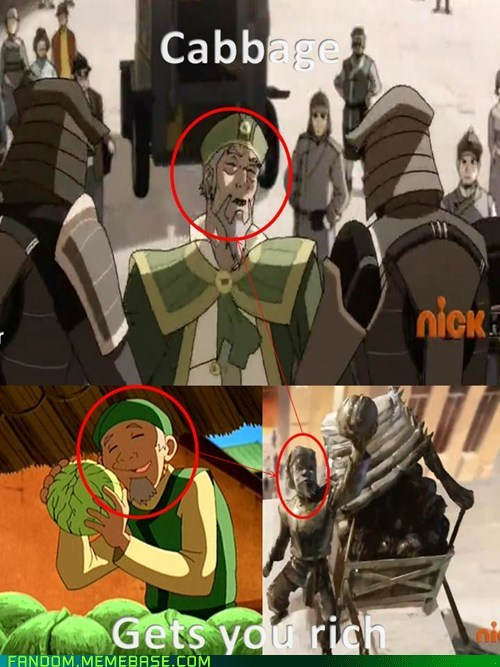 as seen on tv Avatar the Last Airbender korra avatar-the-last-airbende cabbages cartoons - 6245611264