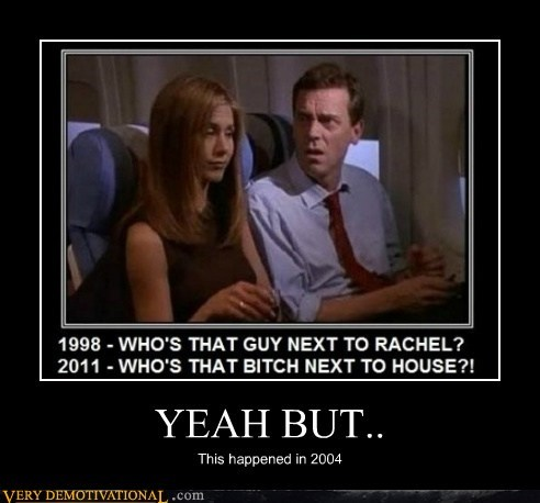 hilarious,house,hugh laurie,jennifer anniston,rachel