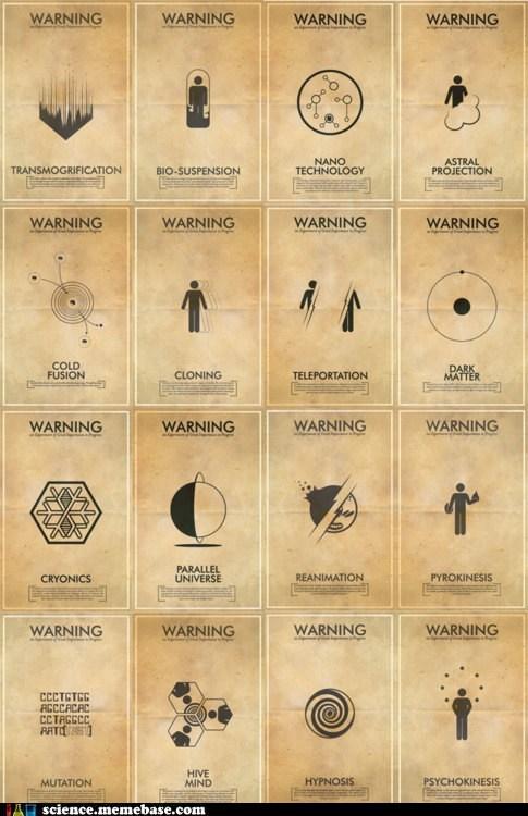 Fringe MAD SCIENCE science warning - 6246249216