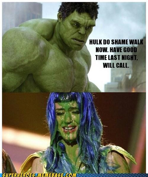 hulk katy perry shame walk superheroes Super-Lols wtf - 6246369792